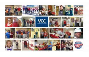 2014 College Colors Day Collage
