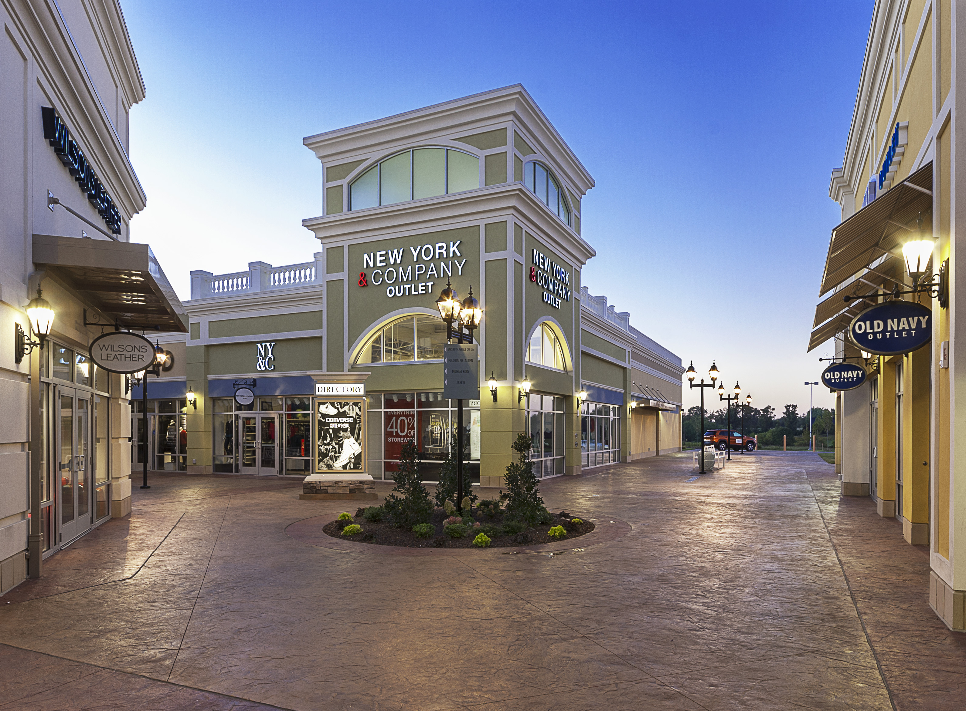 The Outlet Shoppes of the Bluegrass opened Thursday morning and shoppers packed the stores.